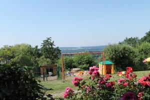 Spielplatz für die kleinen Gäste in Absberg